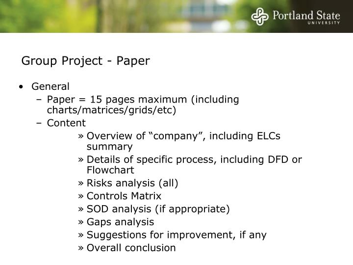 Group Project - Paper
