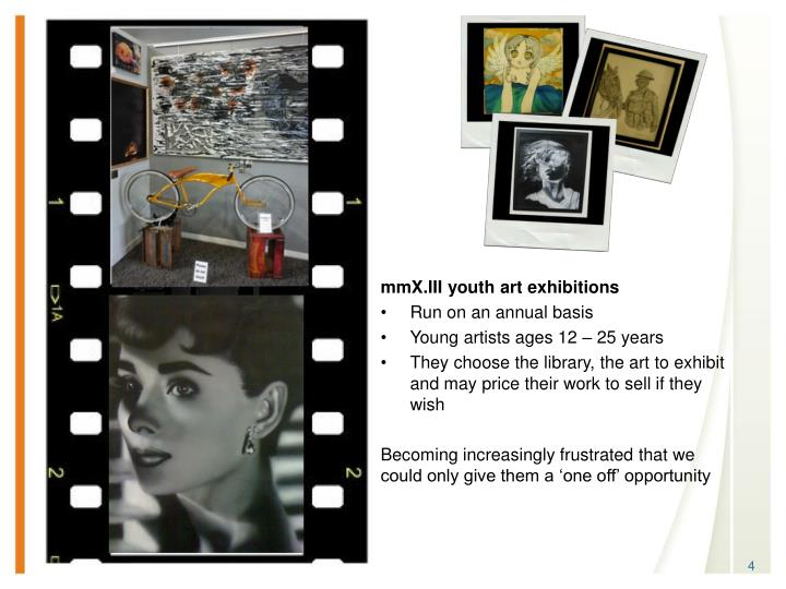 mmX.III youth art exhibitions