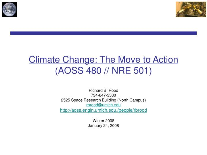 Climate change the move to action aoss 480 nre 501