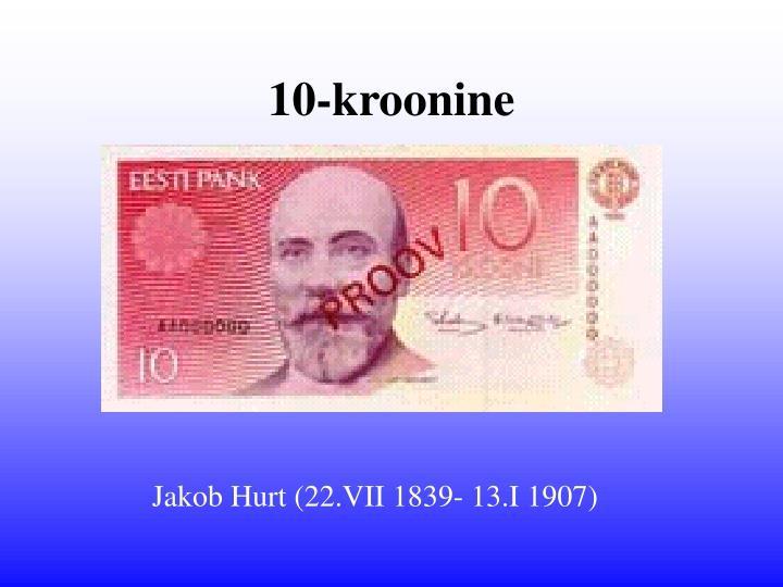 10-kroonine