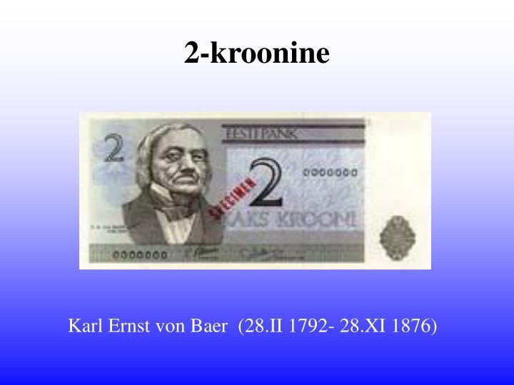 2-kroonine