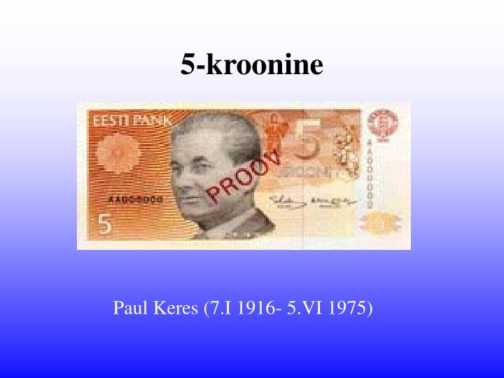 5-kroonine