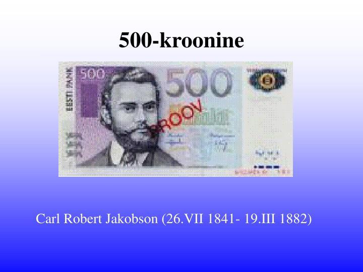 500-kroonine