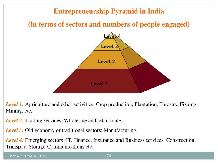 Entrepreneurship Pyramid in India