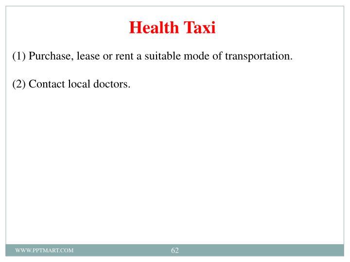 Health Taxi