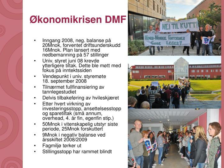 Økonomikrisen DMF