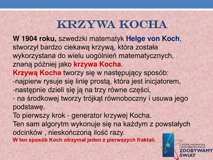 KRZYWA KOCHA