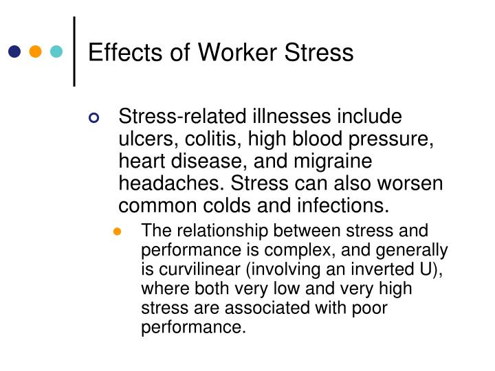 Effects of Worker Stress