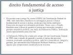 direito fundamental de acesso a justic a