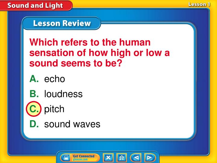 Which refers to the human sensation of how high or low a sound seems to be?