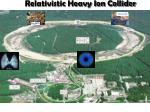 relativistic heavy ion collider