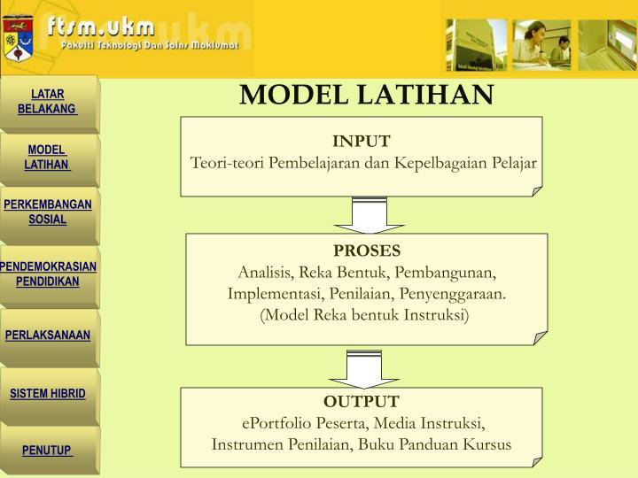 MODEL LATIHAN