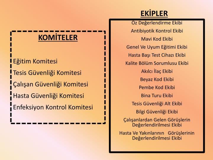 EKİPLER