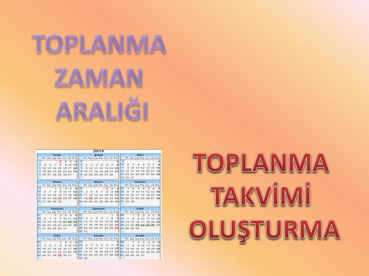 TOPLANMA