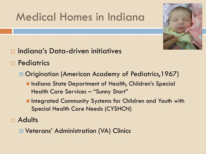 Medical Homes in Indiana