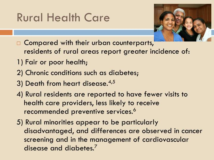 Rural health care1
