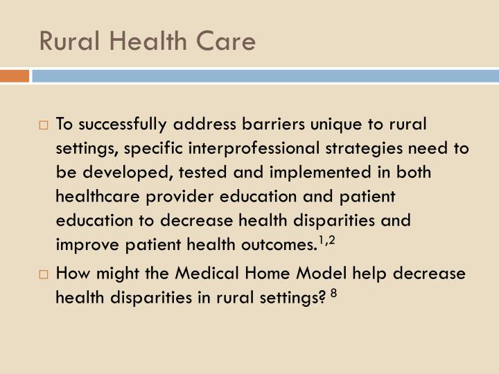 Rural Health Care