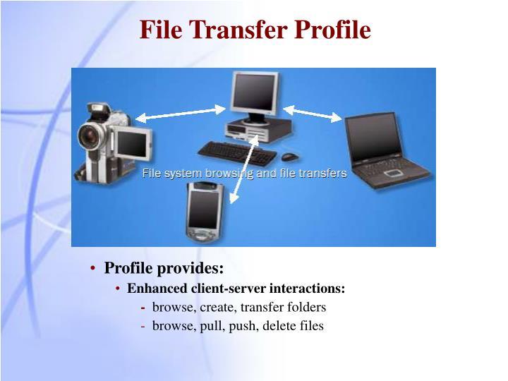 File Transfer Profile