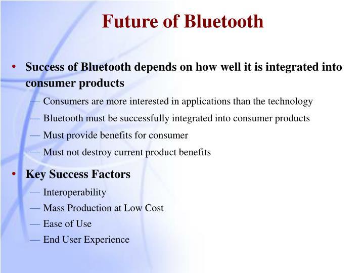 Future of Bluetooth