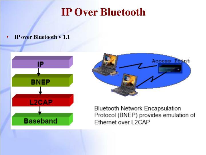 IP Over Bluetooth