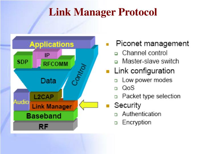 Link Manager Protocol