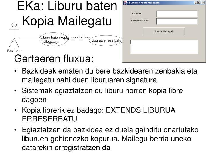 EKa: Liburu baten Kopia Mailegatu