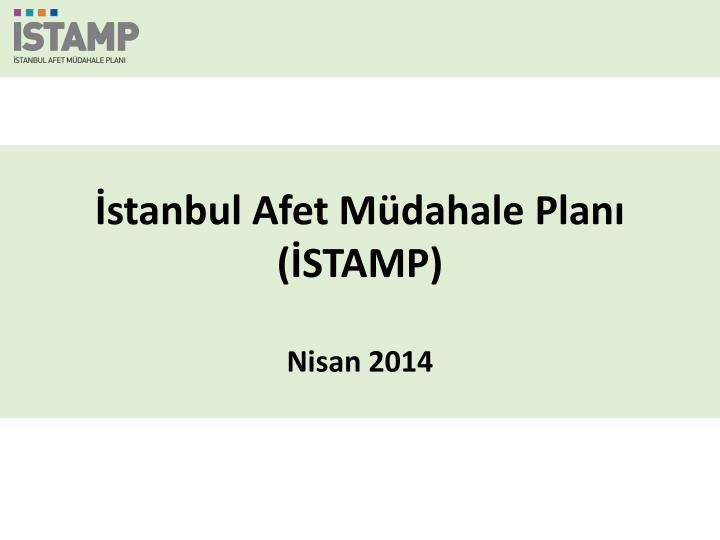 İstanbul Afet Müdahale Planı