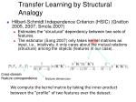 transfer learning by structural analogy1