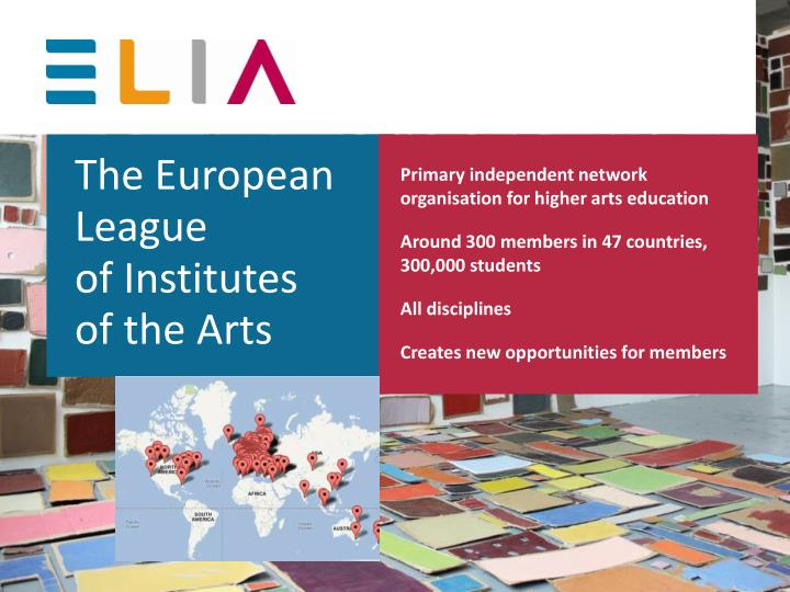 Primary independent network organisation for higher arts education