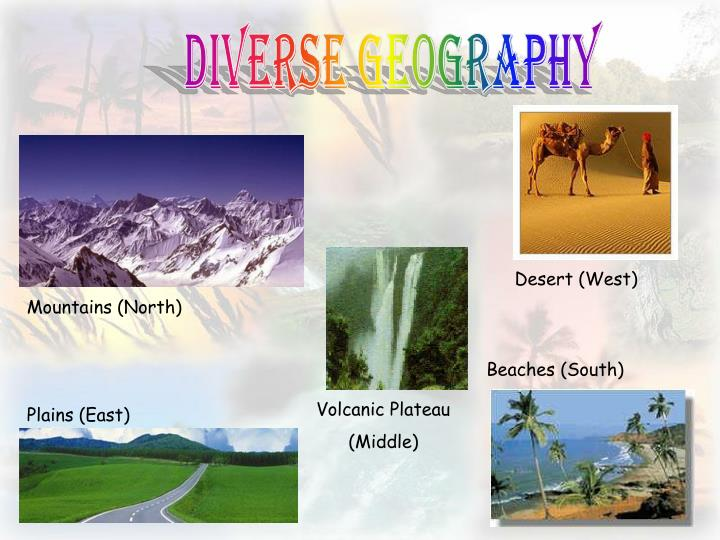 Diverse GeoGraphy