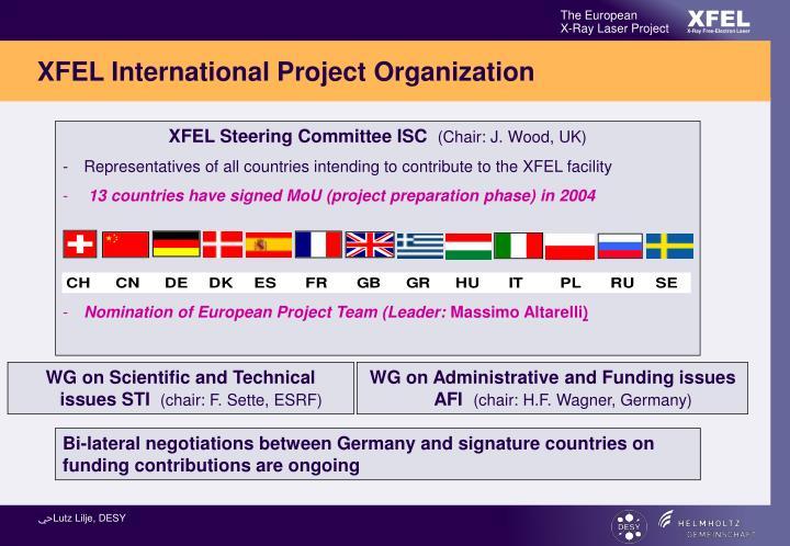 XFEL Steering Committee ISC