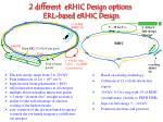 erl based erhic design
