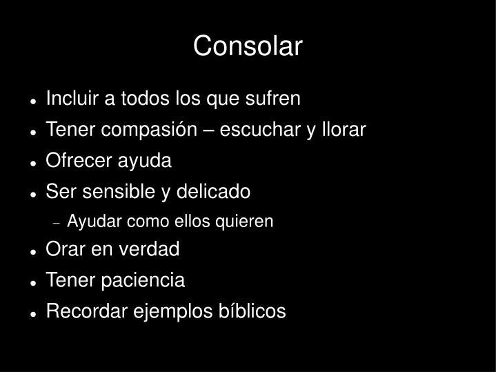 Consolar