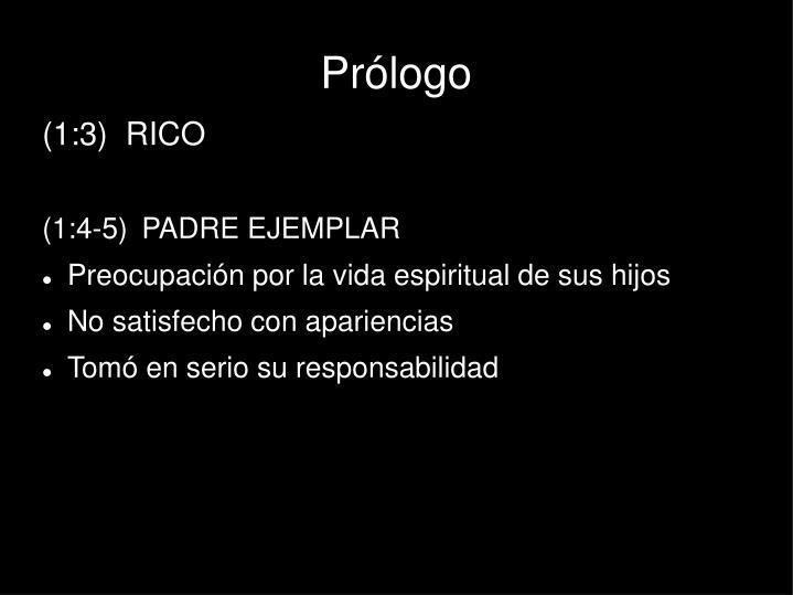 Prólogo