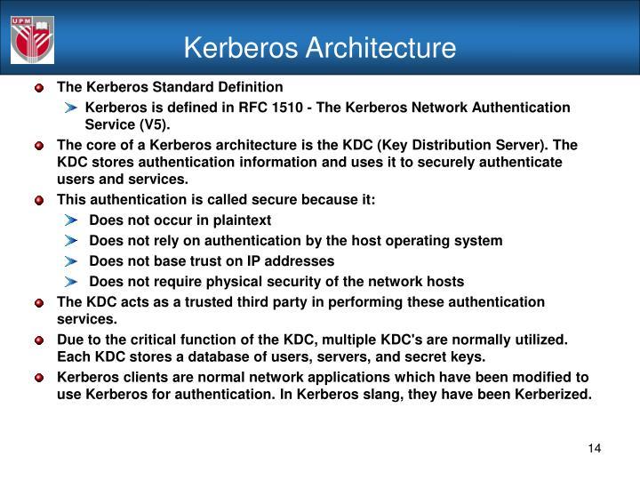 Kerberos Architecture