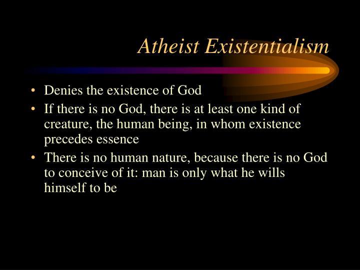 Atheist Existentialism