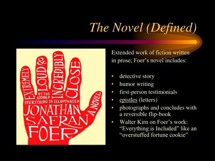 Extended work of fiction written