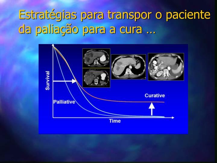 Estratégias para transpor o paciente da paliação para a cura …