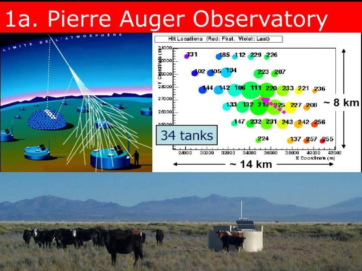 1a. Pierre Auger Observatory