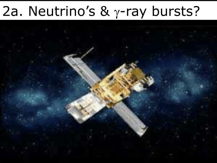 2a. Neutrino's &