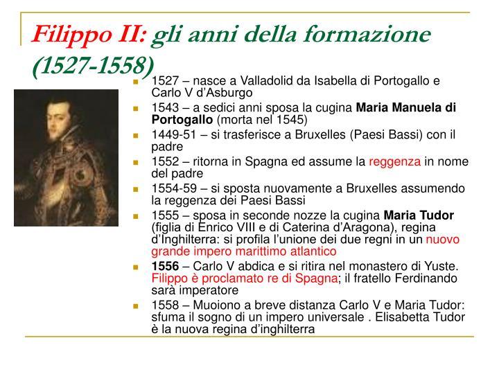 Filippo II: