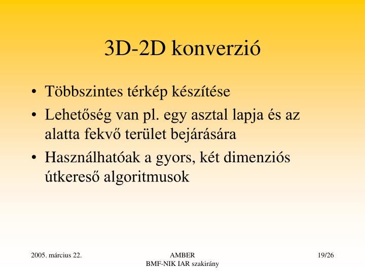 3D-2D konverzi
