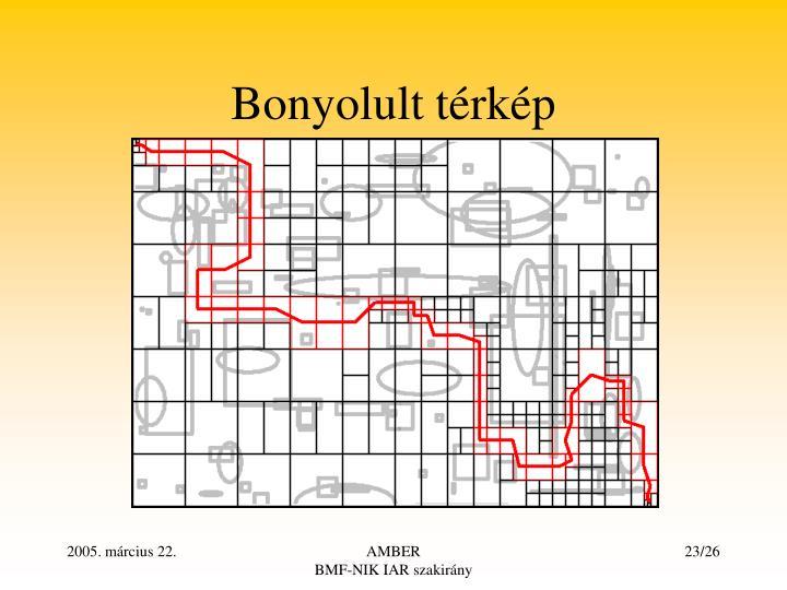 Bonyolult térkép