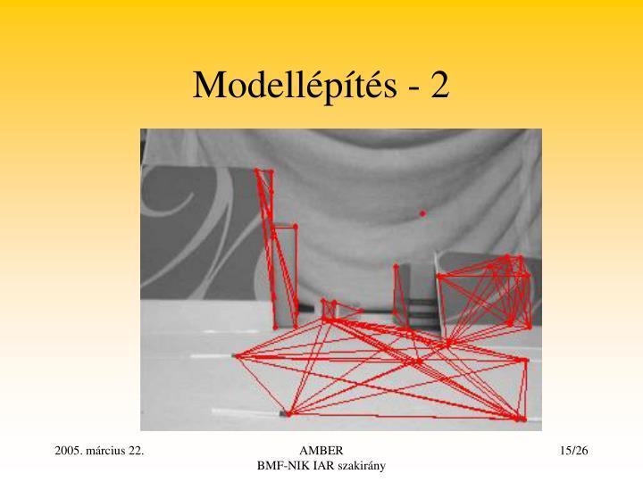 Modellépítés - 2