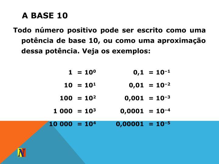 A base 10