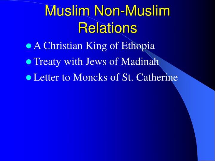 Muslim Non-Muslim