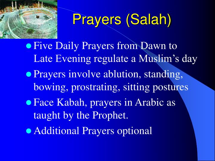Prayers (Salah)