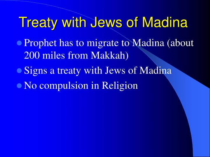Treaty with Jews of Madina