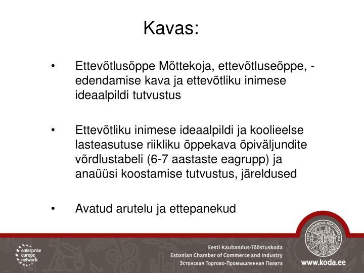 Kavas: