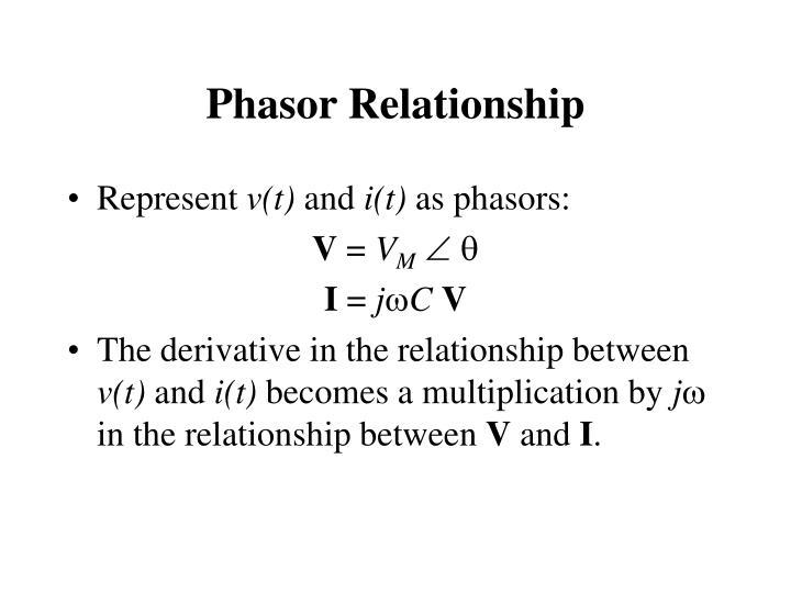 Phasor Relationship
